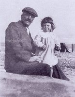 Hubert Bland with his son John
